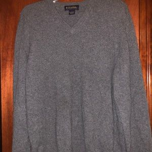 Brooks Brothers Mens 3 ply Italian Cashmere